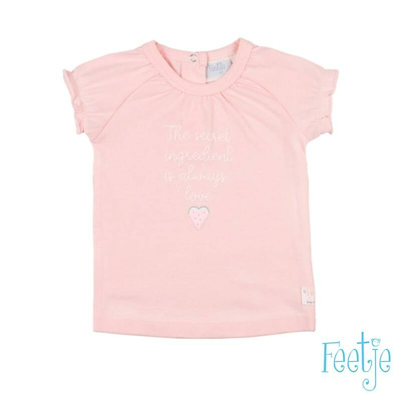 Feetje t-shirt sweet by nature roze