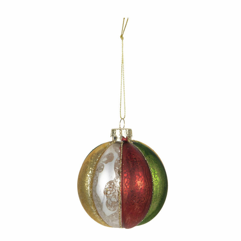 Kerstbol multi color