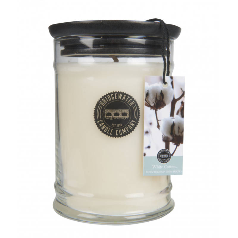 Bridgewater Candle Company - Geurkaars - 500gr - White Cotton