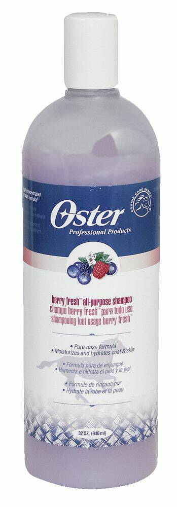 Oster vitamineshampoo paard - Berry Fresh, concentraat 10:1
