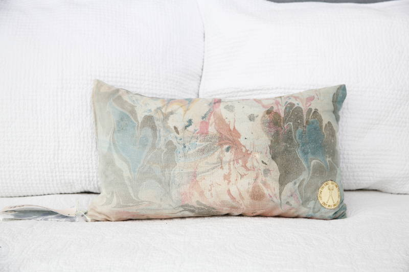 Peace Silk Pillow 1.1 ALL ONE OF A KIND!