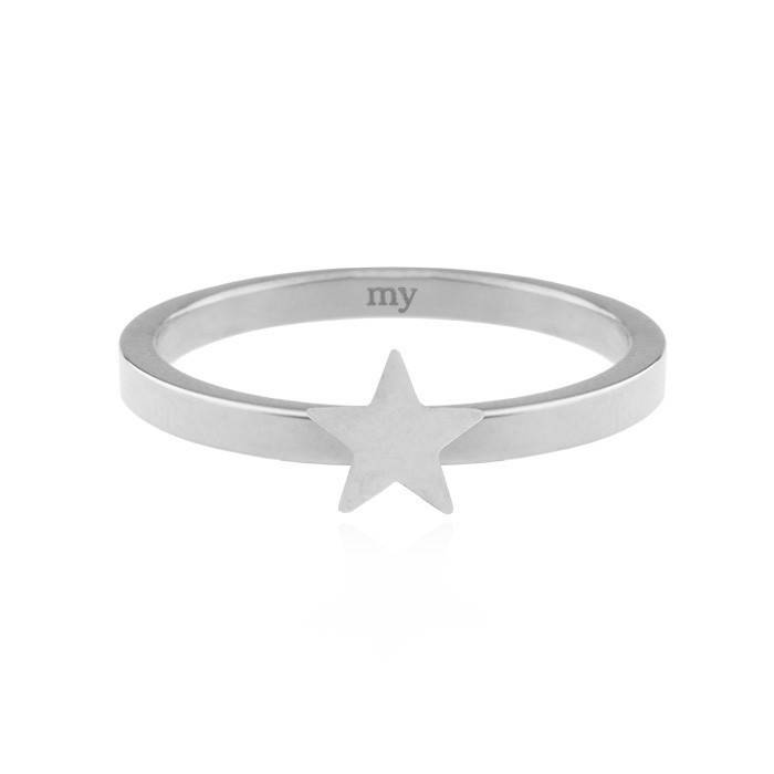 Little Star Ring - Zilver/Rose/Goud