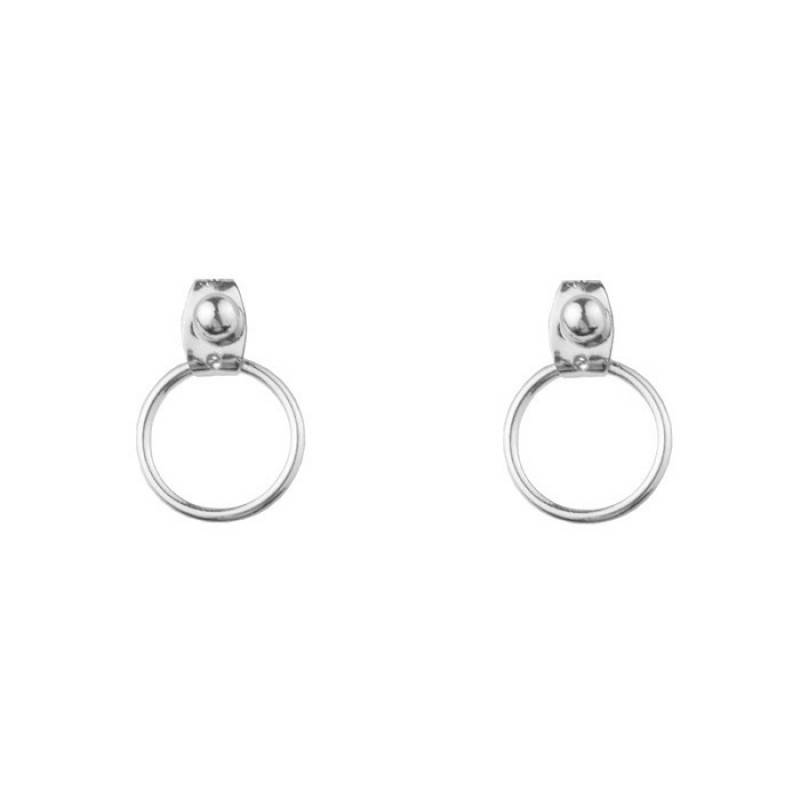 Circle Stud Earrings - Gold/Silver