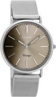 OOZOO Vintage - Silver/warm grey - C8146 - (36mm)
