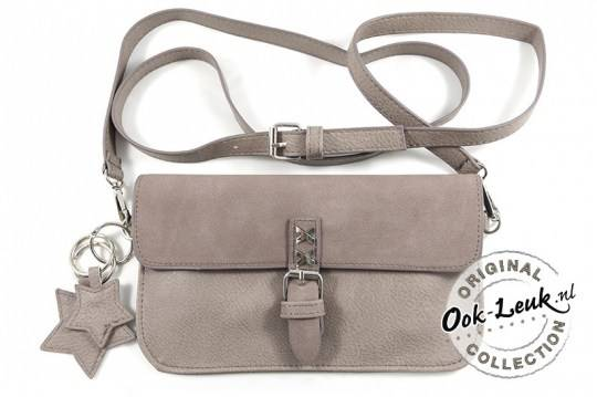 Clutch Amsterdam- Taupe