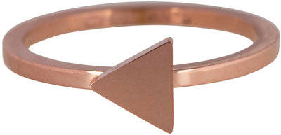 Ring R396 Rosé 'Steel Triangle'