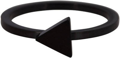 Ring R397 Black 'Steel Triangle'
