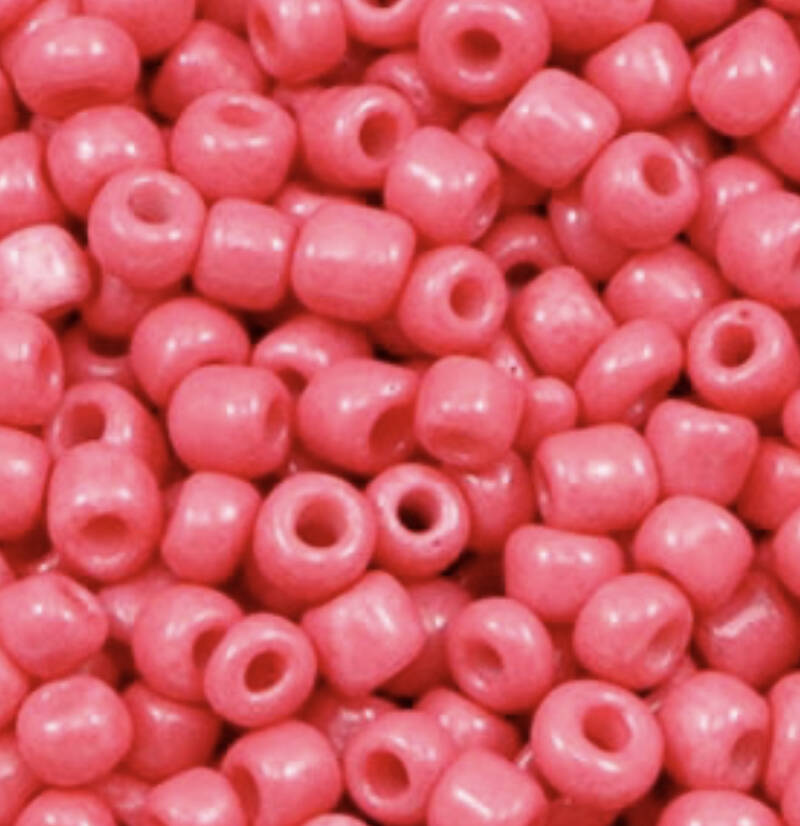 Rocailles rouge red 4mm