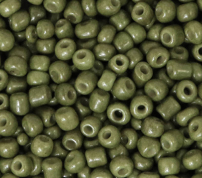 Rocailles 8/0 3mm Sage green