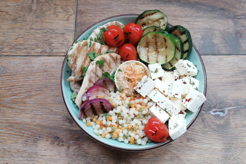 Salad bowl of the month - Libanese bowl