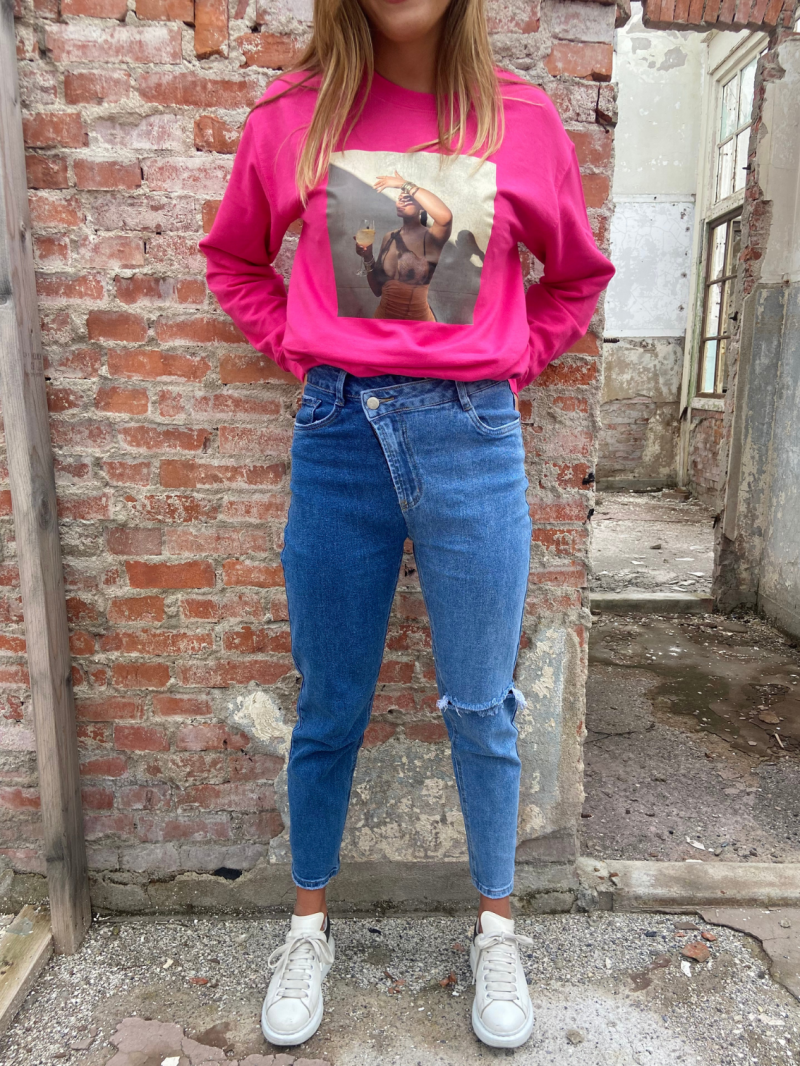 Mom Jeans TWO SIDE
