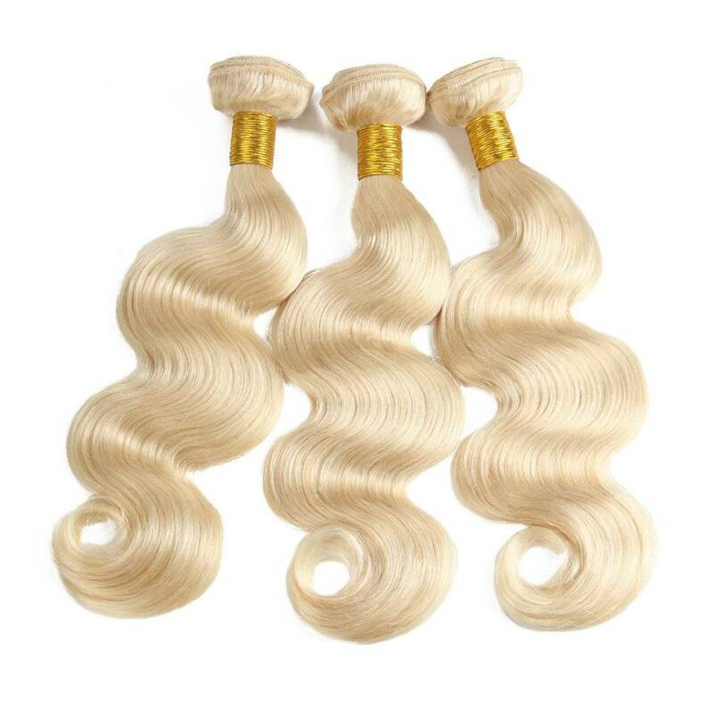 613 BODY WAVE INDIAN HAIR 3 Pcs