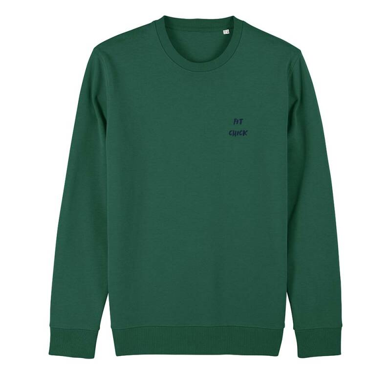 "Sweater groen ""FIT CHICK"""