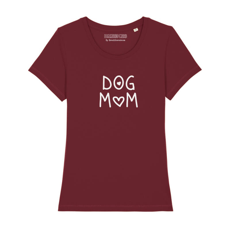 Dames T-shirt Dog 'Mom'