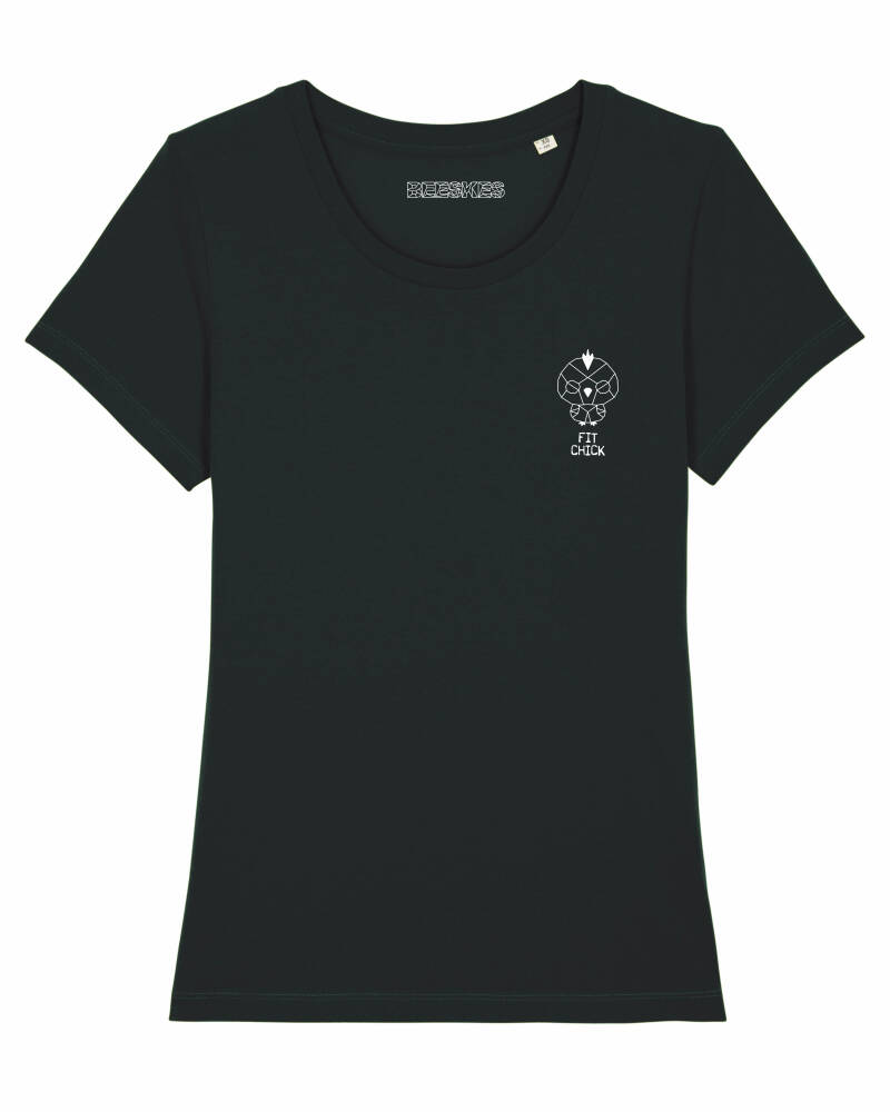 Dames T-shirt Classic 'Fit Chick'