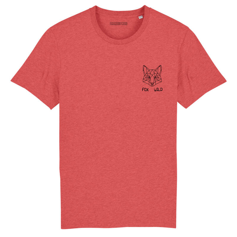 Heren T-shirt Classic 'Fox Wild'