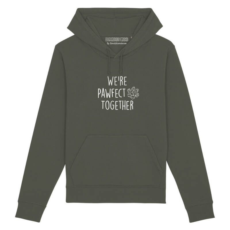 Hoodie Dog 'Pawfect together'