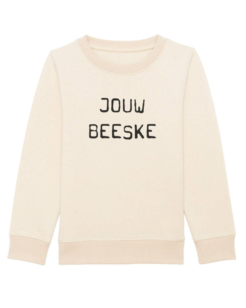 Kids sweater 'Jouw Beeske'