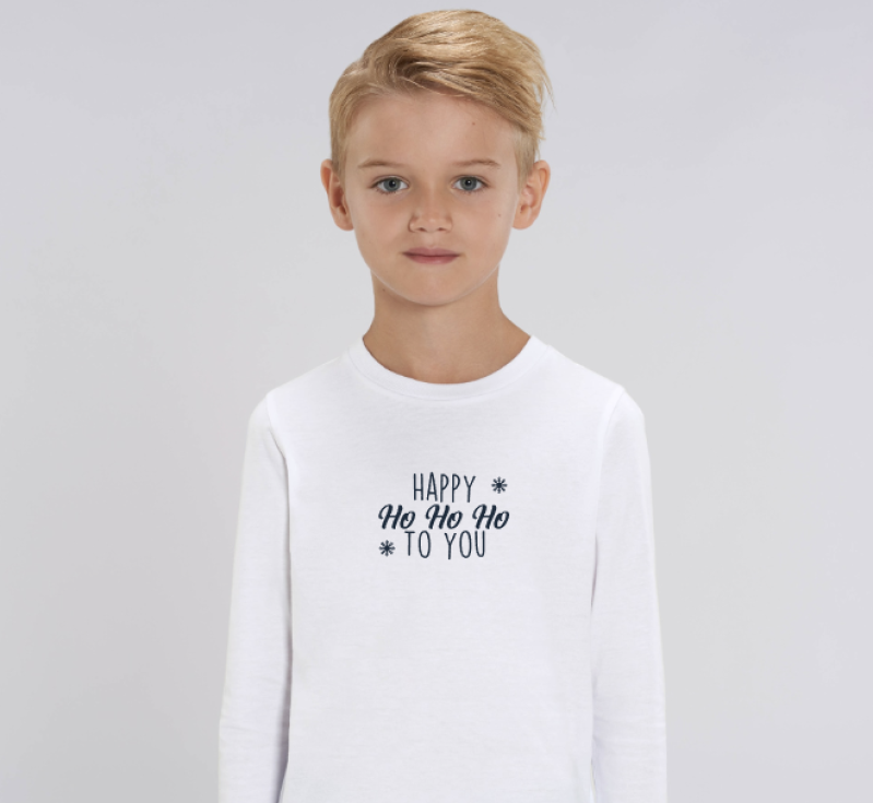 Kids Longsleeve 'Happy HoHoHo'