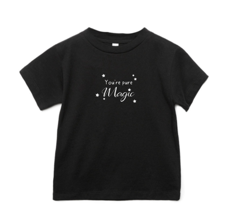 Baby T-shirt 'You're pure magic'