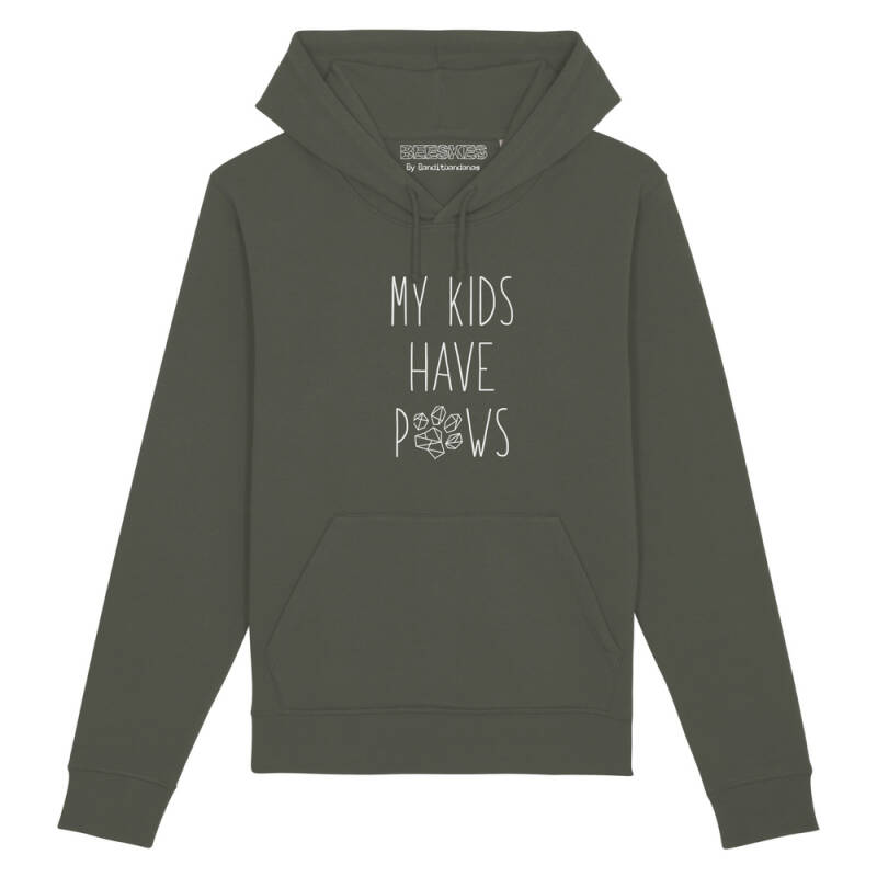 Hoodie Dog 'My kids have paws'