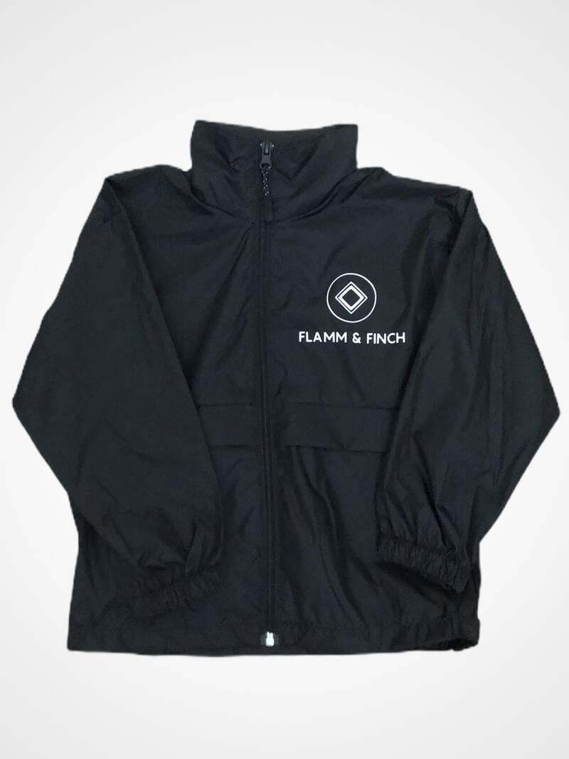 BOYS WINDBREAKER BLACK ORIGINALS