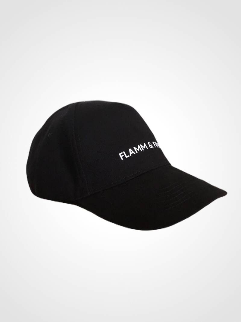CAP BLACK FLAMM & FINCH