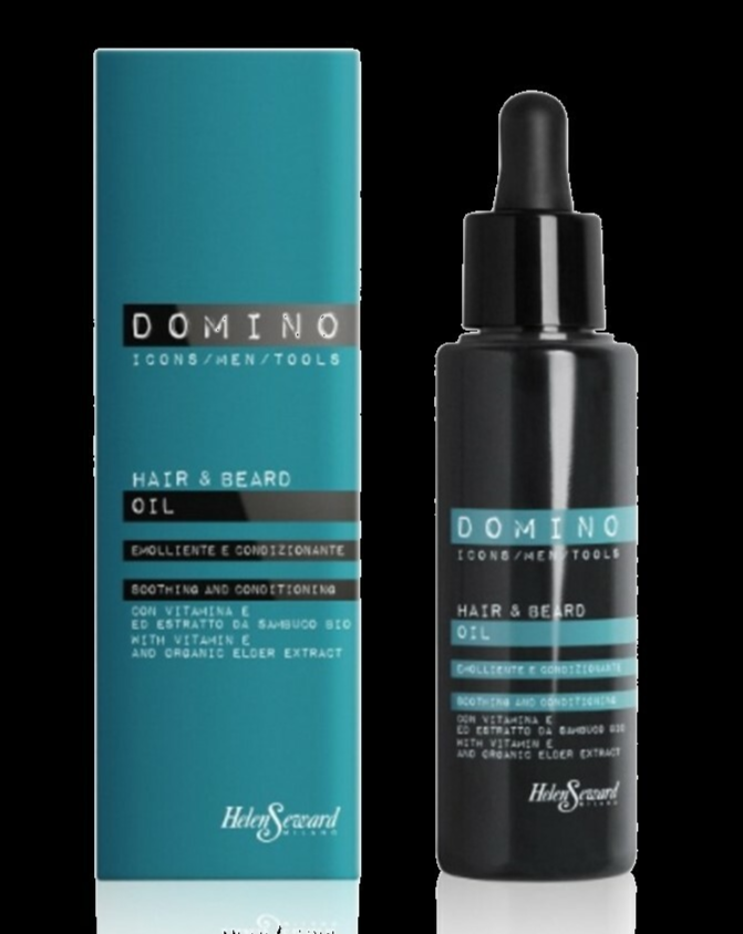 DOMINO 2 IN 1 HAIR AND BEARD OIL