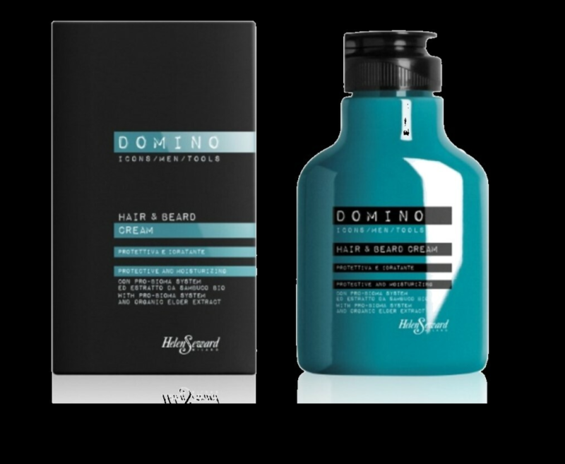 DOMINO 2 IN 1 HAIR AND BEARD CREAM