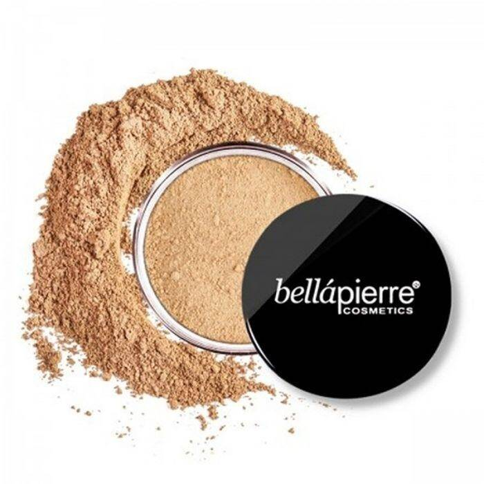 Bellapierre SPF 15 Mineral Loose Powder 5-in-1 Foundation - Nutmeg