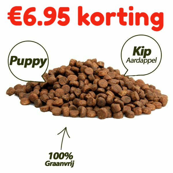 PUPPY super premium chicken & potatoes  100 % GRAANVRIJ 5 kg