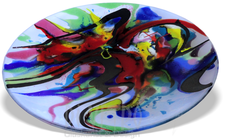 Glasfusing Object - Schaal 'ABSTRACT'