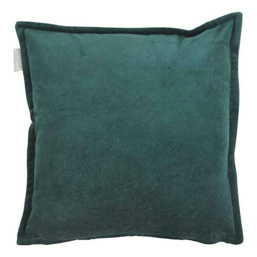 Goround Interior - Cotton Velvet Bottle Green