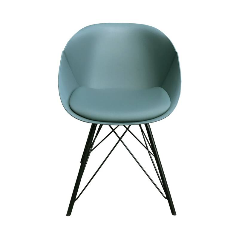 Kick Collection - Designstoel Metal Jax groen