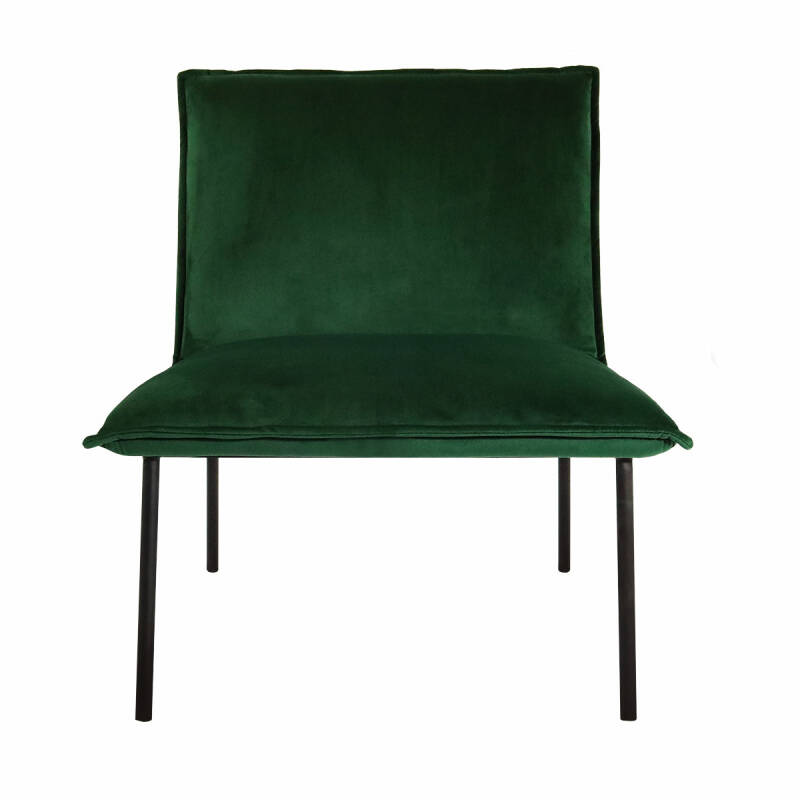 Kick Collection - Fauteuil Lola velvet groen