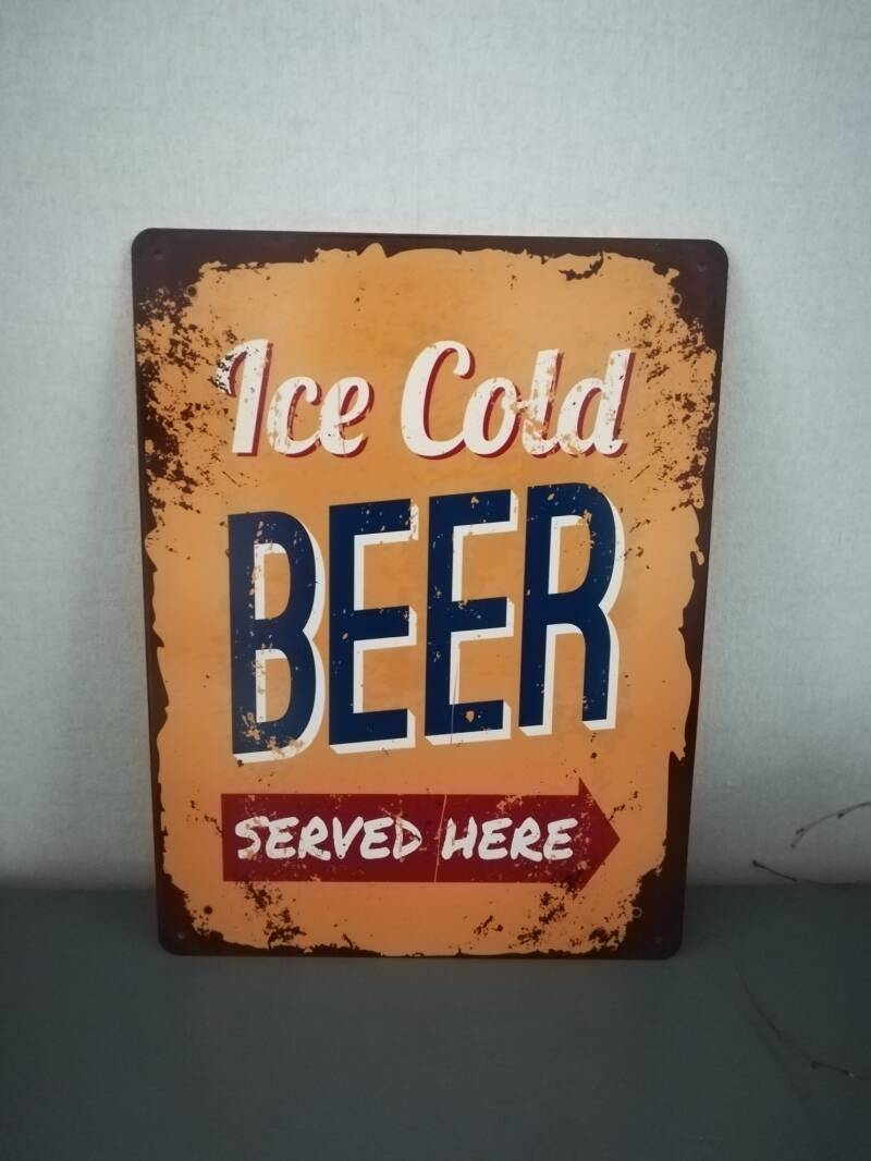 Bord ice cold beer.