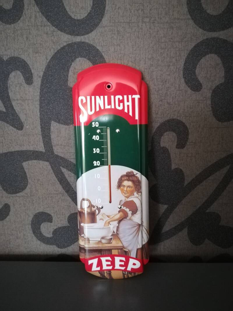Reclame thermometer Sunlight.