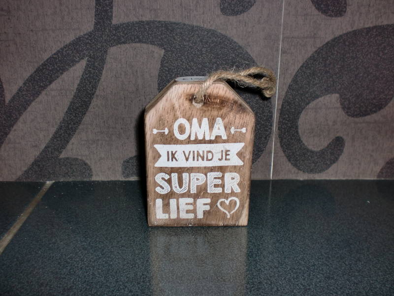 Label oma super lief