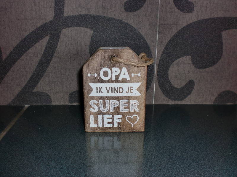 Label opa super lief
