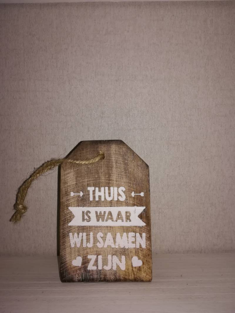 Label thuis