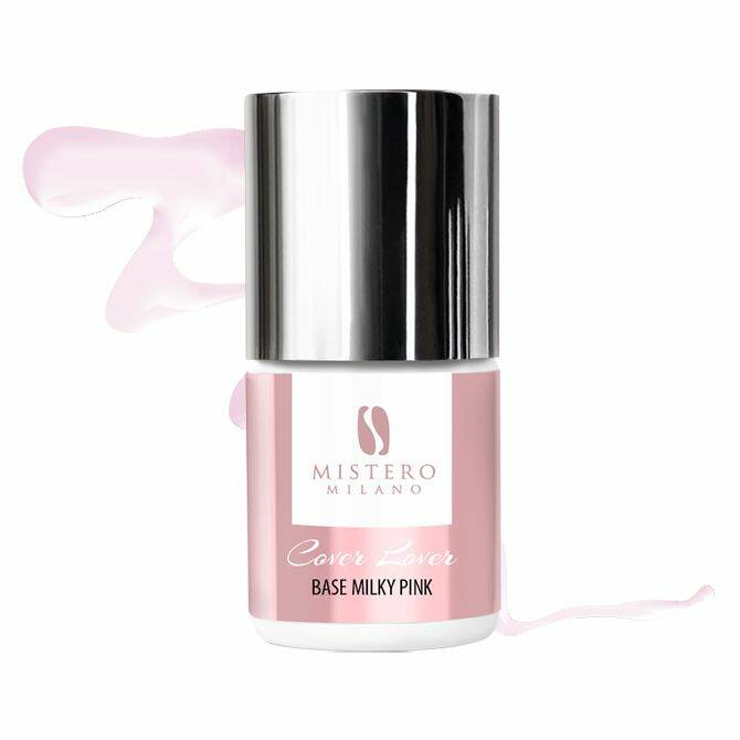 Cover lover (rubber)base milky pink