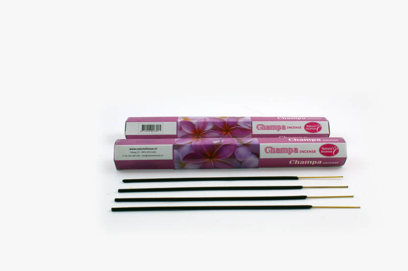 Natures incense wierook champa 20st