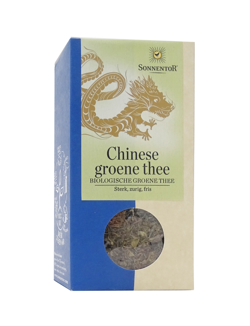 Sonnentor Chinese Groene Thee Los 100g - 00224