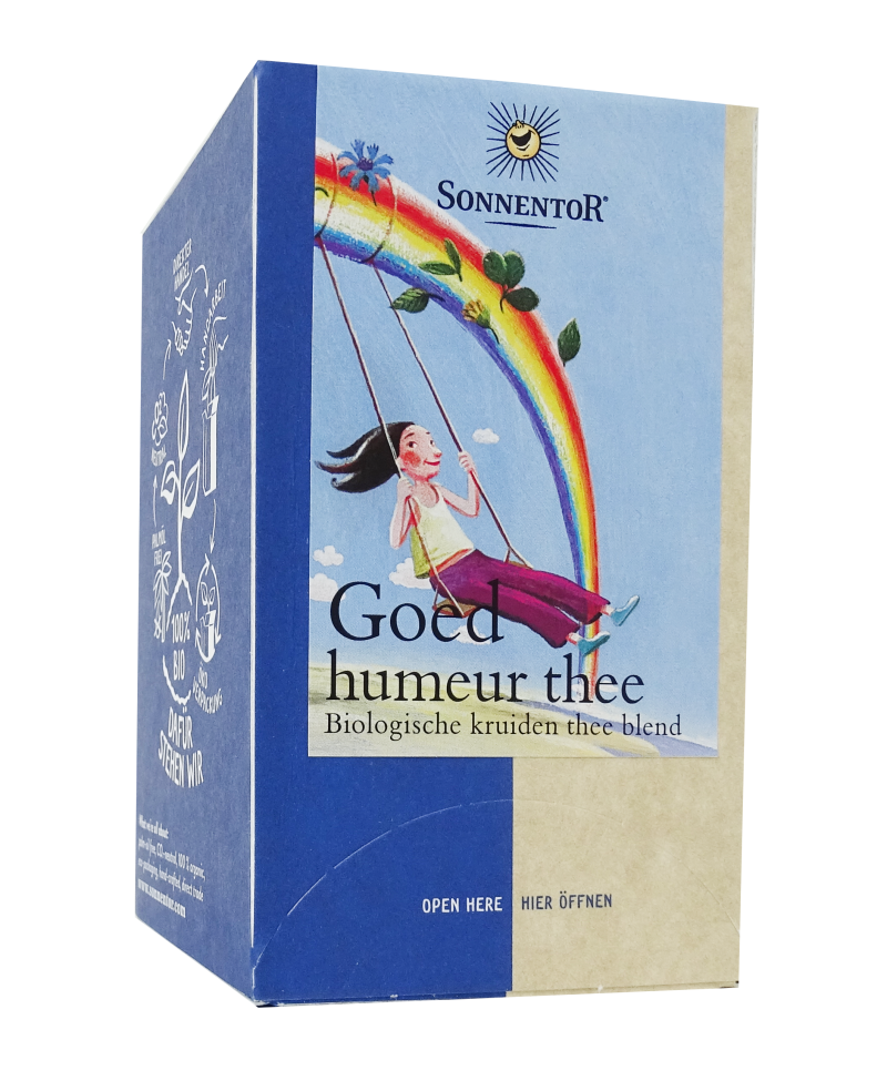 Sonnentor Goed Humeur thee 18st - 2256