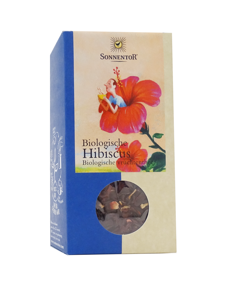 Sonnentor Hibiscus thee los 80g - 00232