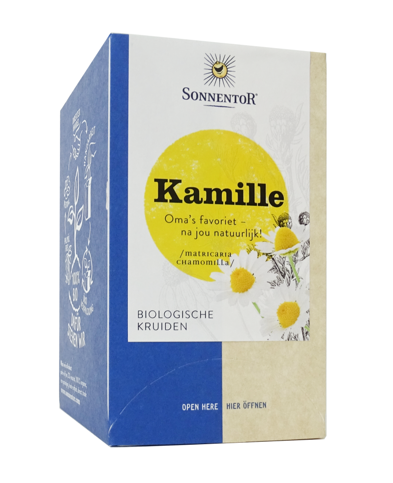 Sonnentor Kamille thee 18st - 02213