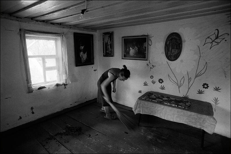 Cleaning in a summer small house