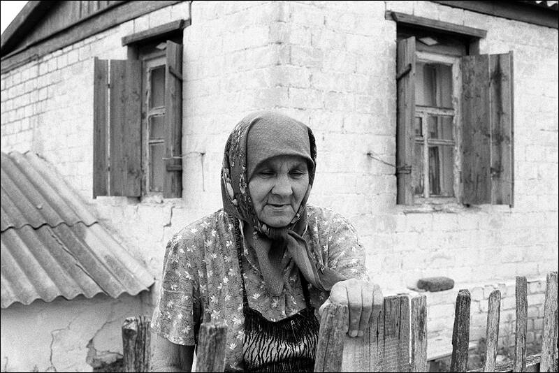 Old woman frosia