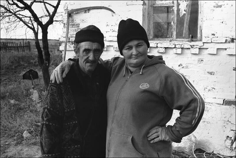 The family of the georgian immigrants living subsidiary farm in the don steppe
