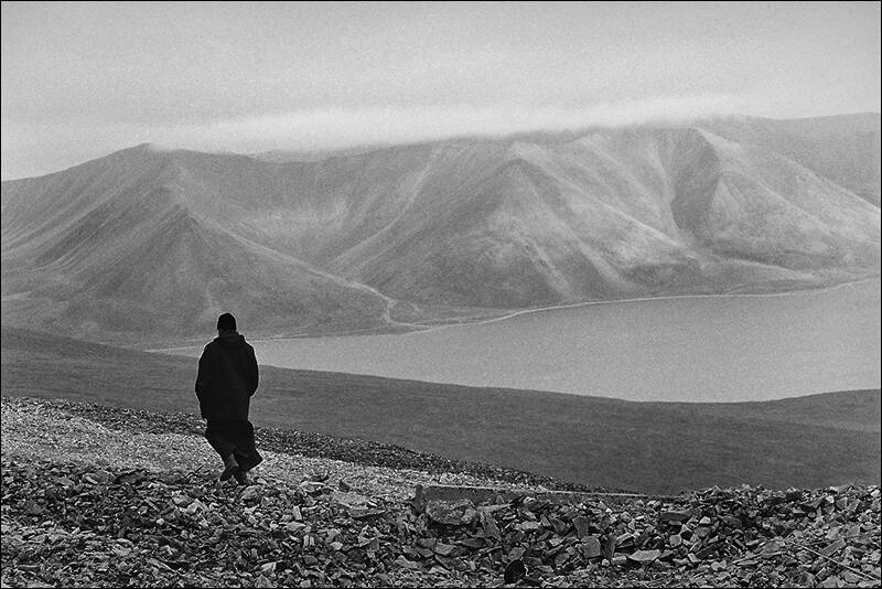 CHUKOTKA - THE LONELY MONK IN THE FOOTHILLS OF PROVIDENCE BAY